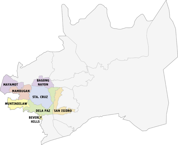 Legislative districts of Antipolo Wikiwand