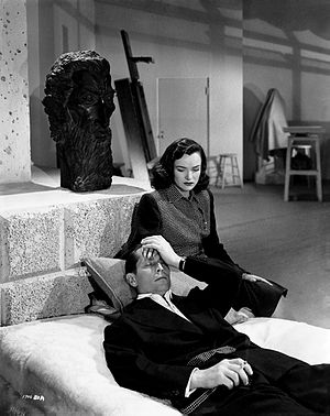 Phantom Lady (film) - Ella Raines and Franchot Tone