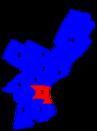 Philadelphia city council districts 1951.png