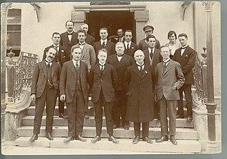 Cumann na nGaedheal - Photograph of Cumann na nGaedheal Government, 1922/1923