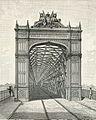 Piacenza fronte del ponte in ferro sul Po xilografia.jpg