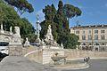 Piazza del Popolo Fontana della dea Roma a Roma.jpg