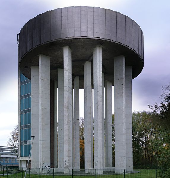 Pidpa water tower in Hemiksem