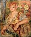 Pierre-Auguste Renoir - Blonde à la rose - c. 1915-17.jpg