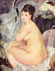 Nude woman, Anna