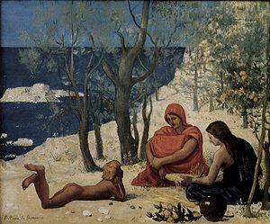 1872 in art - Image: Pierre Cécile Puvis de Chavannes 004