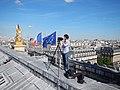 Pierre-Elie de Pibrac sur les toits du Palais Garnier.jpg