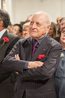 Pierre Bergé French industrialist and patron