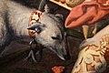 Pieter pietersz, i tre ebrei condotti alla fornace da nabucodonosor, 1575, 05 cane.jpg