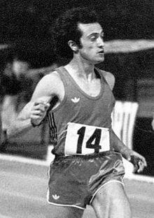Pietro Mennea a Viareggio nel 1972.