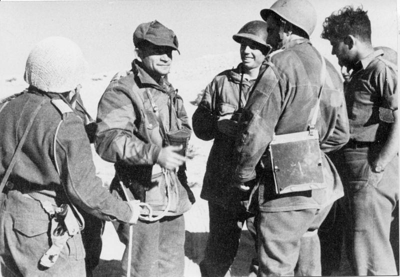 מבצע חורב - מפגש מפקדים לאחר כיבוש משלטי תמילה