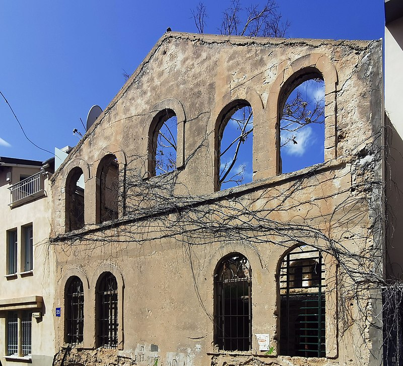 מבנה באמזלג 35 בתל אביב