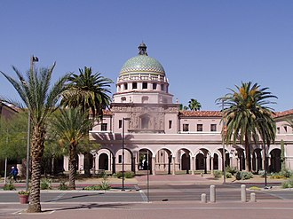 Pima County, Arizona - Image: Pima County Courthouse 10