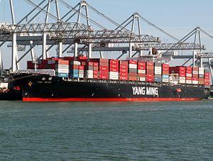Pine Bridge p2, at the Amazone harbour, Port of Rotterdam, Holland 29-Mar-2006.jpg