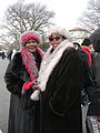 Pink and red scarves at Inauguration 2013.jpg