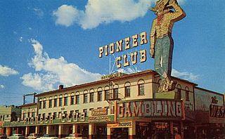 Pioneer Club Las Vegas former casino in Las Vegas, Nevada