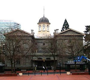 Matthew Deady - First federal courthouse in Portland