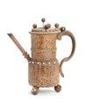 Pipkanna av svarvad masurbjörk, 1600-tal - Skoklosters slott - 106187.tif