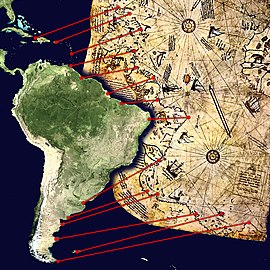 Resultado de imagen de mapa piris reis