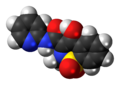 Piroxicam 3D spacefill.png