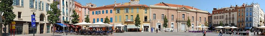Place de la République Perpignan Panorama