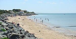 Angoulins - Seashore at Angoulins