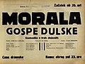 Plakat za predstavo Morala gospe Dulske v Narodnem gledališču v Mariboru 23. novembra 1929.jpg