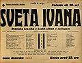 Plakat za predstavo Sveta Ivana v Narodnem gledališču v Mariboru 2. maja 1937.jpg