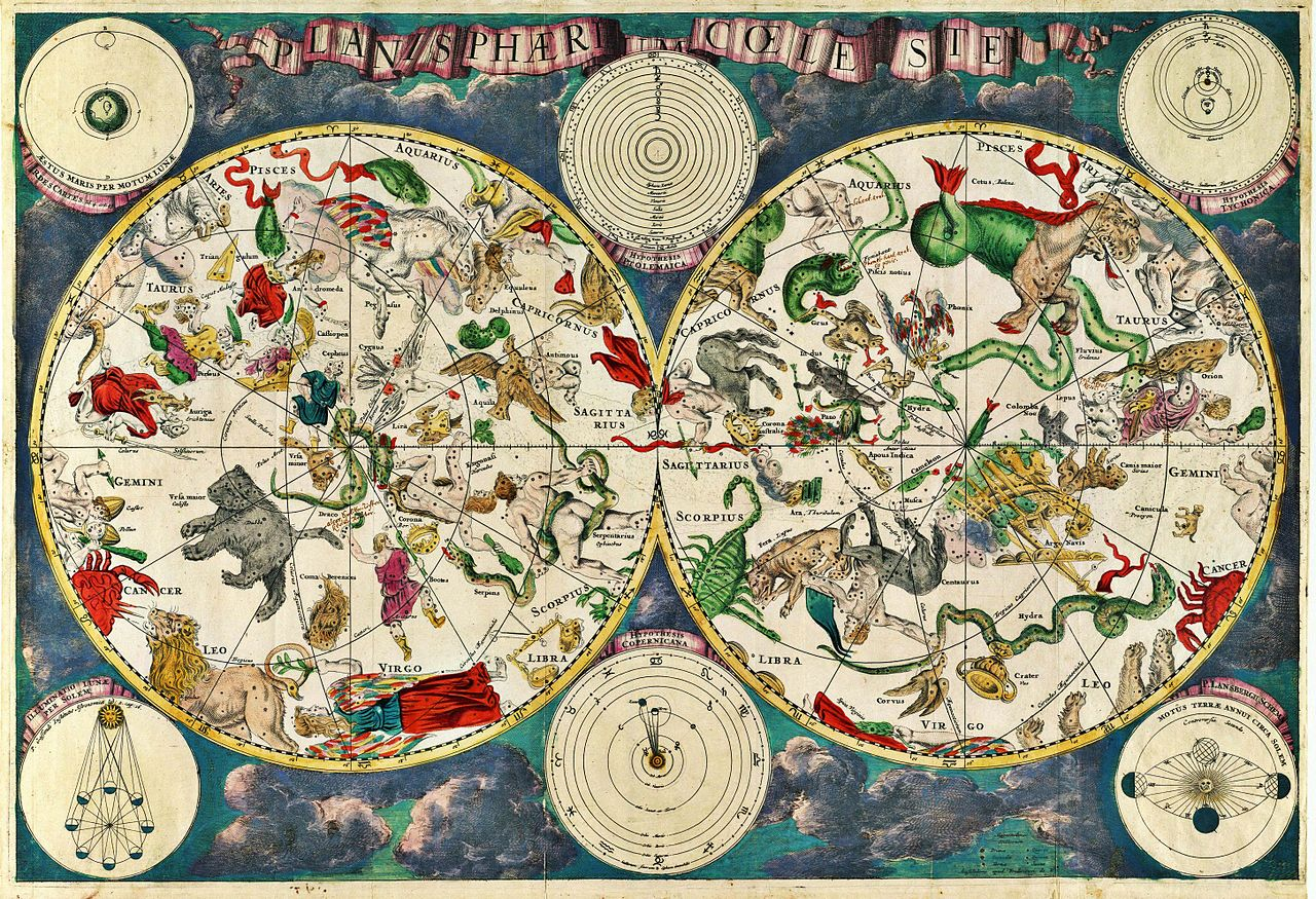 Birthday Chart Zodiac: Planisphæri cœleste.jpg - Wikimedia Commons,Chart
