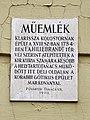 Plaque - Budapest, Úri u. 49, 1014 Hungary.jpg