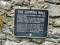 Plaque on The Jumping Church, Kildemock - geograph.org.uk - 1772410.jpg