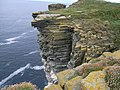 Plated cliffs near to the Kitchener Memorial - geograph.org.uk - 954835.jpg