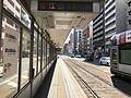 Platform of Tokaichimachi Station (Main Line) 1.jpg