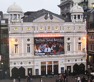 John Moffatt (actor) - Liverpool Playhouse, where Moffatt made his debut