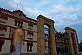 Plaza de Toros del Bibio, Fachada principal y verja.jpg