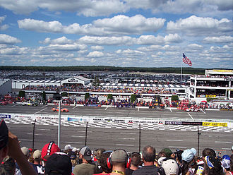 2011 Good Sam RV Insurance 500 - Pocono Raceway, the race track where the race will be held.