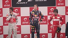 Photo du Podium du Grand Prix