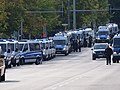 "Police on the Lichtenberger Brücke in Berlin in front of the ""Heß-Marsch"" Demonstration 12.jpg"