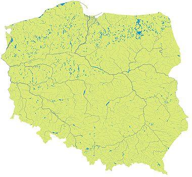 Список рек Польши