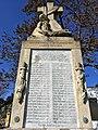 Pomník padlým vojakom v 1. svetovej vojne, Svätý Jur, Slovensko (detailný pohľad).jpg