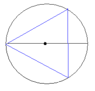 Jean-Victor Poncelet - Steiner construction of an equilateral triangle