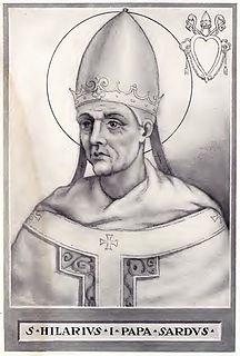 Pope Hilarius pope