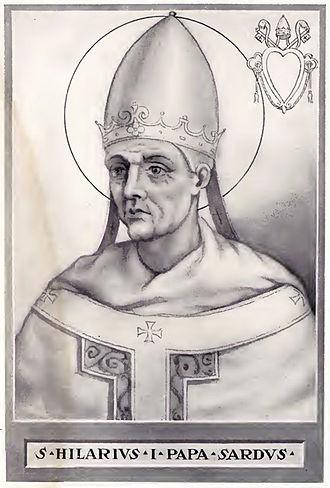 Pope Hilarius - Image: Pope Hilarius