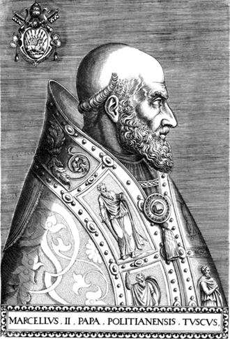 Pope Marcellus II - Image: Pope Marcellus II