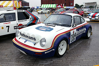Group B - Rothmans Rally Team's Prodrive-run Porsche 911 SC RS