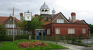 Port Sunlight - Image: Port Sunlight buildings 3