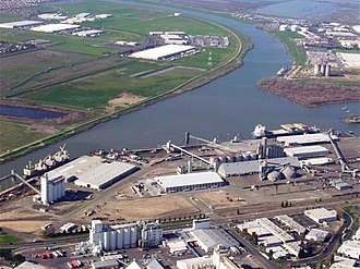 West Sacramento, California - Port of West Sacramento, located in the city.