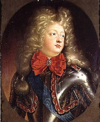Jacques-Bénigne Bossuet - The Grand Dauphin (1661–1711), only surviving legitimate son of Louis XIV (1638–1715).  Bossuet served as his tutor 1670–1681.
