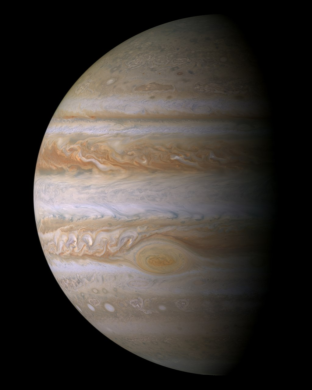 Portrait of Jupiter from Cassini