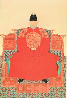 Taejo of Joseon the first king of Joseon Dynasty in Korean history